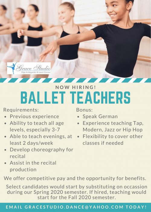 Dance Teacher Opening (2)